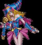 Dark Magician Girl OCG Render