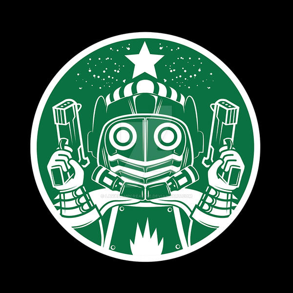 2a4c9350e Star-lord Coffee - Guardians of the Galaxy shirt by LavaLampCreative ...