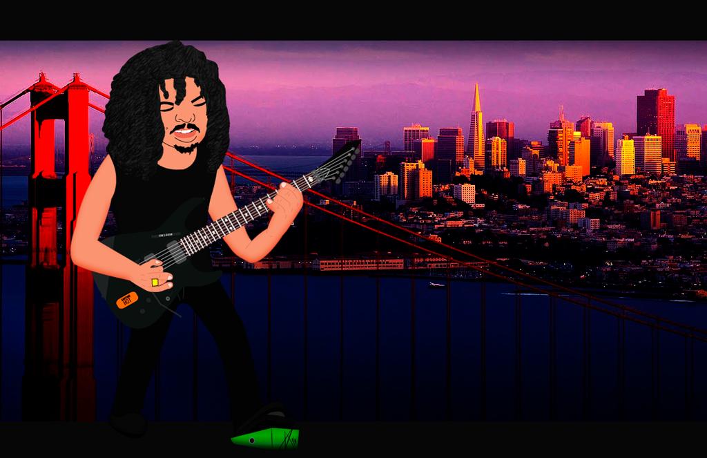 Kirk Hammett by ArturoFuenmayor