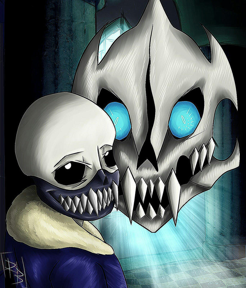 Genocide Sans.  by Really-Bad