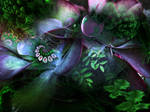 More from my Floral-Botanical Fractals Series...