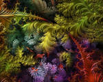 More from my Floral~Botanical Fractals Series...