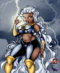BBW Storm by Comic-Colorist