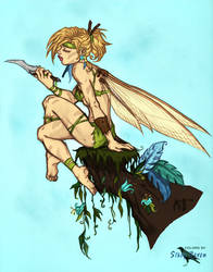 Tinkerbell by Comic-Colorist
