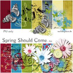 Scrapbooking Kit: Spring Should Come