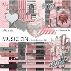 Scrapbooking Kit: Music On