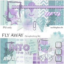 Scrapbooking Kit: Fly Away