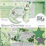 Scrapbooking Kit: Green Christmas
