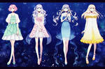 Vocafx  Minty Little Sky Girls   Coelacanth By