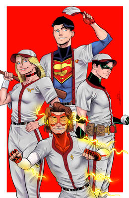 Young Justice Core 4 commission