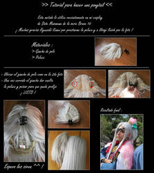 Tutorial: Simple Ponytail wig by eriolcosplays