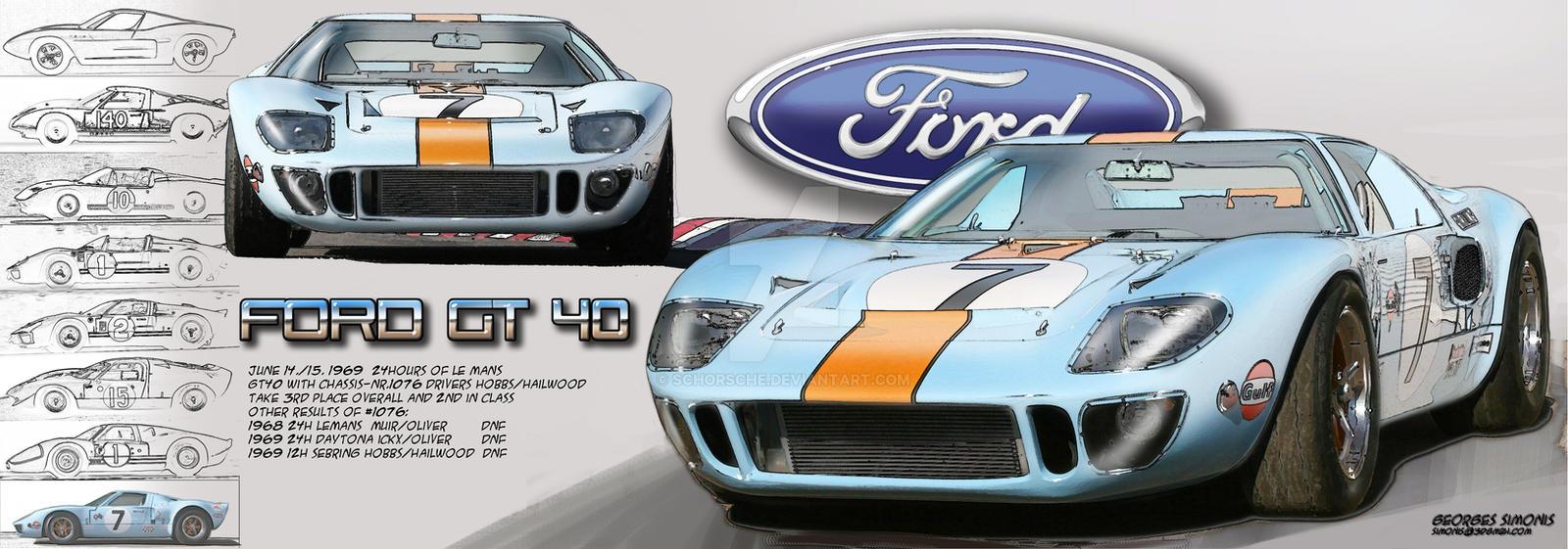 Ford Gt  Lemans Sportscar By Schorsche