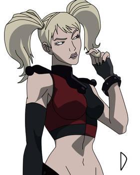 Harley Quinn Assault On Arkham