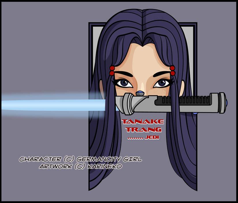 Tanake's Eyes + Saber by KariNeko