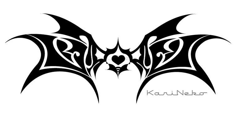 Tribal Wingsheart by KariNeko on DeviantArt