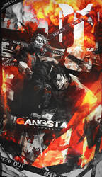 Gangsta - Collab w/ Rodarkid by Dwayn-KIN