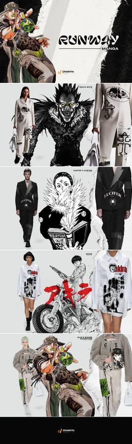 Runway Manga - ' The Fashion with Manga ' / 1