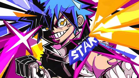 Wallpaper -  Black Star // Soul Eater