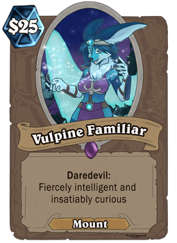 Vulpine Familiar - Comming to Hearthstone!