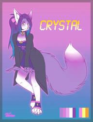 Crystal the Vaporwave Fox