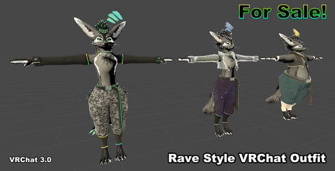 Rex Rave Outfit for Sale!