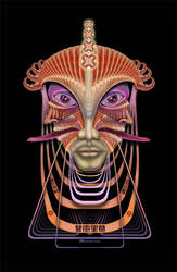 Pleiadian Messenger by Giohorus