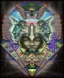 Inanna's divine dream by Giohorus
