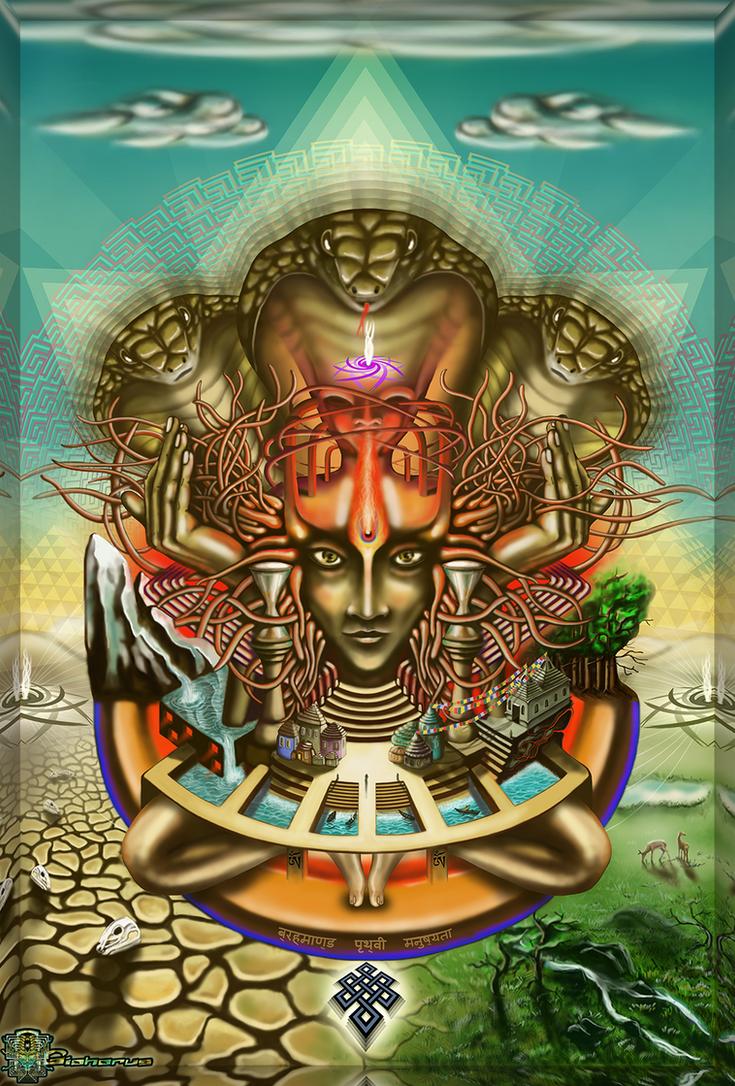 Young Sadhu's visionary pilgrimage by Giohorus