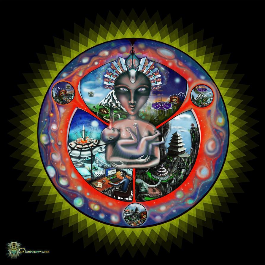 Multiverse awakening by Giohorus