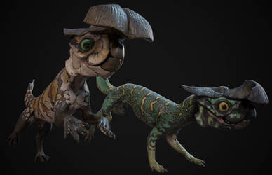 Alien rodent - Savannah and Jungle run