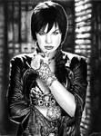 Ashley Scott - Huntress by amberj8