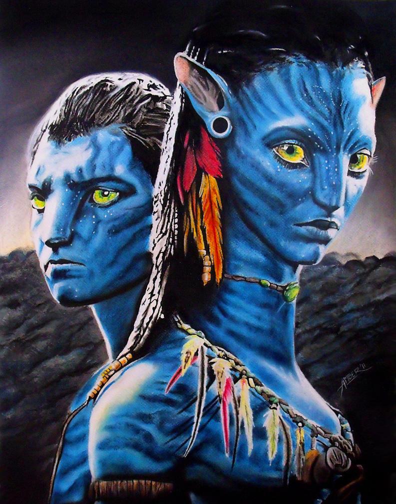 Avatar neytiri and jake by amberj8 on deviantart for Deviantart vrchat avatars