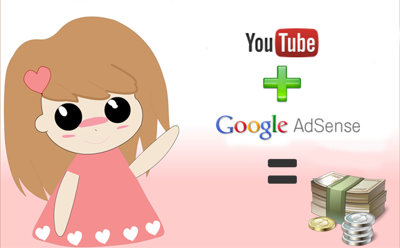 how to add adsense to youtube