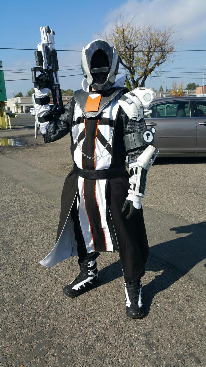 Destiny Warlock Costume by TAK-tide