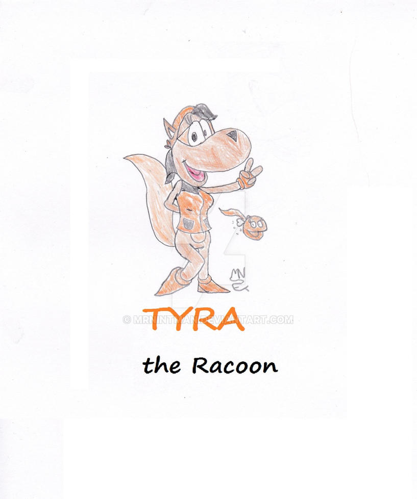 Tyra the Racoon by MrNintMan