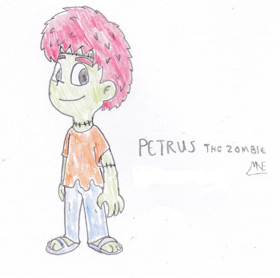 Petrus the Zombie by MrNintMan