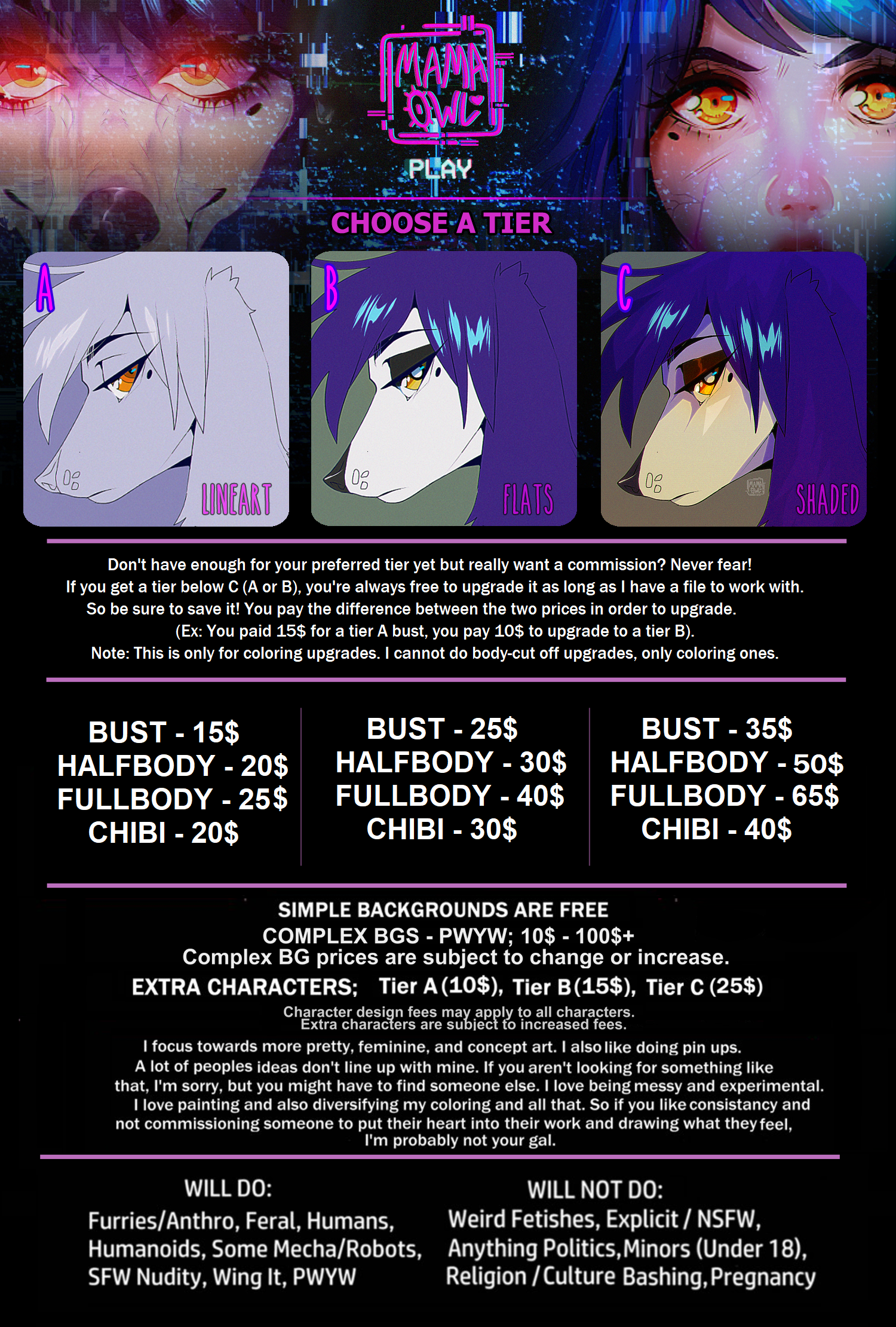 ( Commission Information )