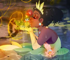 [[ The Princess and the Frog ]] by Mama--Owl