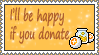 Donate stamp by mariami1