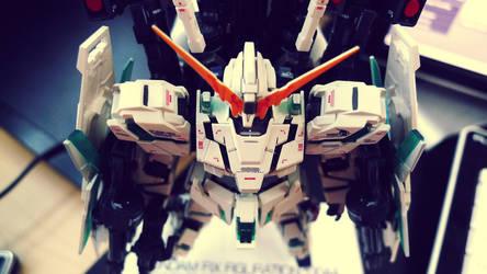 GFFN Full Armor Unicorn Gundam by winterheimhdd
