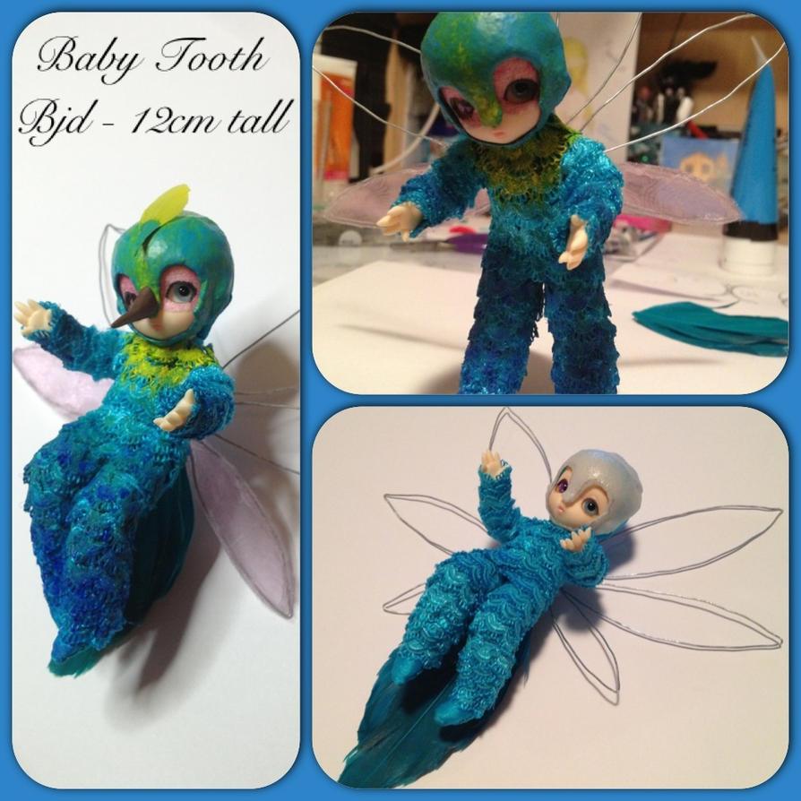 Baby Tooth bjd in progress! by Aabenhuus