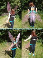 Toothiana Progress 7 - Testrun on wings! by Aabenhuus