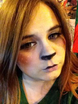 Faun makeup test!