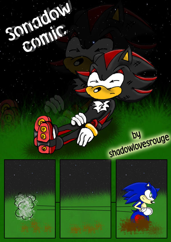 sonadow comic page 1 by shadowlovesrouge