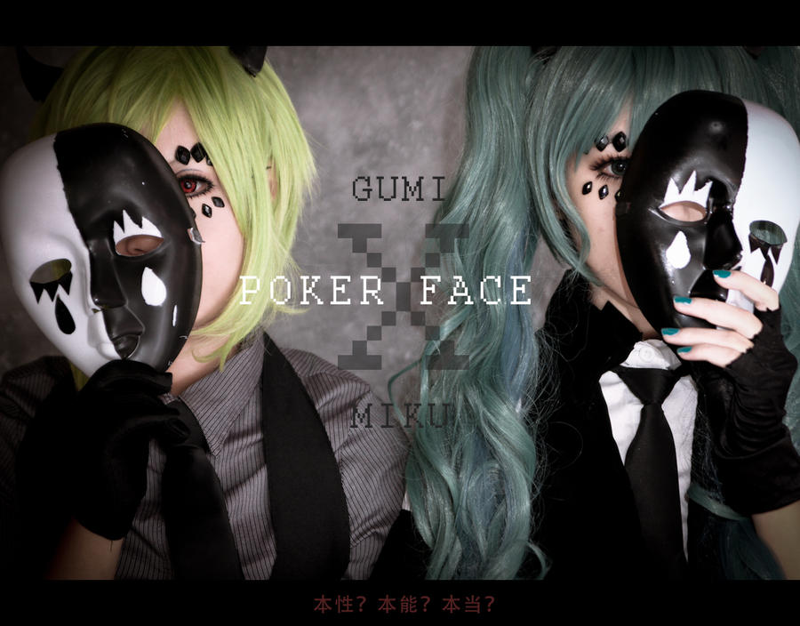 poker face : gumi x miku by angie0-0