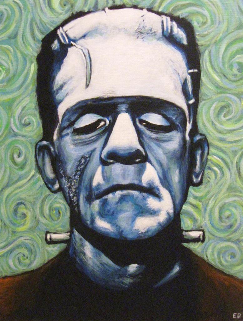 Boris Karloff: the only true Frankenstein.