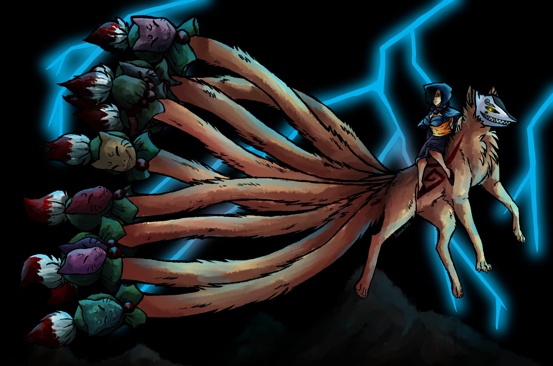 Image Gallery Kitsune Fox Demon
