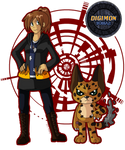 Digimon Zodiac: Jessica and Ilurumon
