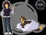 Digimon Zodiac: Candice and Velomon