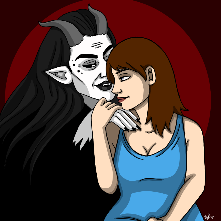 In love with the devil by B-GroveArt